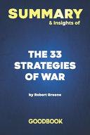 Summary & Insights of The 33 Strategies of War by Robert Greene - Goodbook
