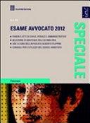 Speciale esame avvocato 2012