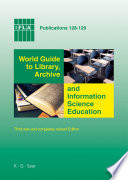 World Guide To Library Archive And Information Science Education Book PDF
