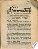 A Soldier s Honor