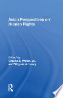 Asian Perspectives On Human Rights