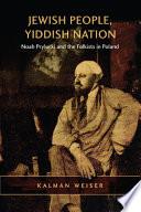 Jewish People  Yiddish Nation