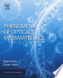 Phenomena of Optical Metamaterials Book