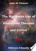 The Worldwide List Of Alternative Theories And Critics