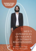 Men s Experiences of Violence in Intimate Relationships