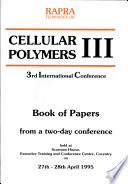 Cellular Polymers III Book