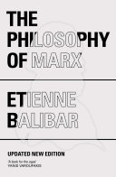 Pdf The Philosophy of Marx Telecharger