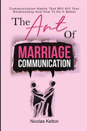The Art Of Marriage Communication