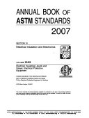 Annual Book of ASTM Standards 2007