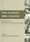 Chains of Production  Ladders of Protection
