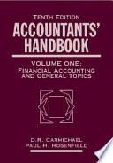 Accountants Handbook Financial Accounting And General Topics