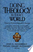 Doing Theology in Today s World Book