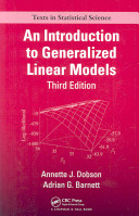 An Introduction to Generalized Linear Models, Third Edition