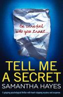 Tell Me A Secret Pdf