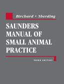 Saunders Manual of Small Animal Practice   E Book