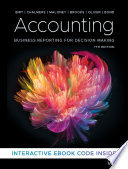 """Accounting: Business Reporting for Decision Making"" by Jacqueline Birt, Keryn Chalmers, Suzanne Maloney, Albie Brooks, Judy Oliver, David Bond"
