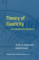 Theory of Elasticity for Scientists and Engineers [Pdf/ePub] eBook