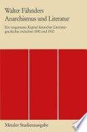 Anarchismus und Literatur