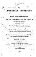 The Poetical Monitor ... [Edited by E. Hill.]. Eighth Edition