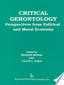 Critical Gerontology