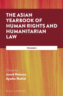 The Asian Yearbook of Human Rights and Humanitarian Law