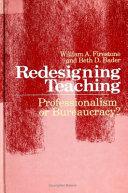 Redesigning Teaching