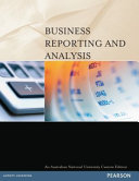 Cover of Business Reporting and Analysis (Custom Edition)