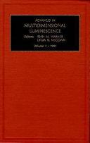 Advances In Multidimensional Luminescence Book PDF