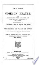 The Prayer Book Interleaved