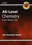 As Chemistry Aqa Revision Guide