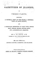 A Gazetteer of Illinois