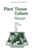 Plant Tissue Culture Manual - Supplement 7