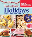 Taste of Home Holidays & Celebrations Pdf