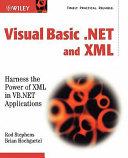 Visual Basic  NET and XML