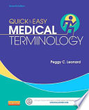 Quick and Easy Medical Terminology Book