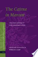 The Catena In Marcum