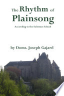 The Rhythm of Plainsong