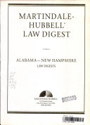 Martindale-Hubbell international law digest - Martindale