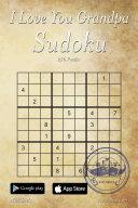 I Love You Grandpa Sudoku - 276 Logic Puzzles