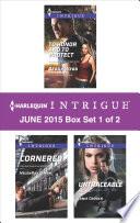 Harlequin Intrigue June 2015 Box Set 1 Of 2