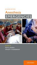 Anesthesia Emergencies Pdf/ePub eBook
