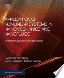 Application of Nonlinear Systems in Nanomechanics and Nanofluids