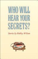 Pdf Who Will Hear Your Secrets?