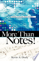More Than Notes