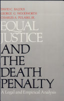 Equal Justice and the Death Penalty