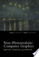 Non photorealistic Computer Graphics