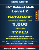 Sat Subject Math Level 2  2018 Book