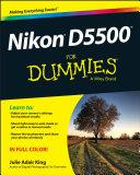 Nikon D5500 For Dummies