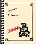 The Reharmonized Real Book   Volume 1