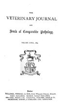 The Veterinary journal  Ed  by G  Fleming